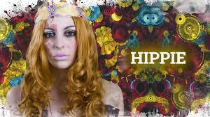 hippie makeup costume cómo