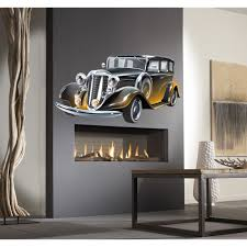 Shop Full Color Retro Car Full Color Decal Full Color Sticker Colored Retro Car Sticker Decal 48 X 65 Overstock 15621112