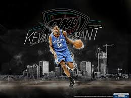 kevin durant thunder wallpaper on