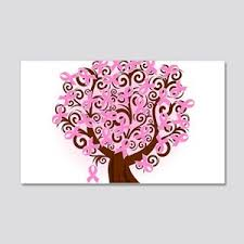 Breast Cancer Wall Decals Cafepress