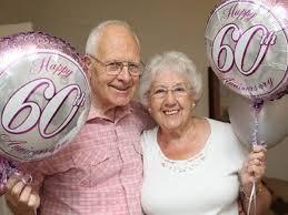 celebrate 60th wedding anniversary