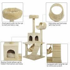 Archie Oscar Rona Tunnel Playground Activity Scratcher Cat Tree Reviews Wayfair Ca