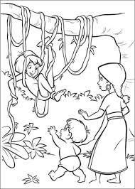 Mowgli In De Jungle Kleurplaat Gratis Kleurplaten Printen