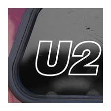 Amazon Com Socool U2 Rock Band Vinyl 6 Wide Color White Decal Laptop Tablet Skateboard Car Windows Stickers Computers Accessories