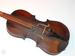 wall hanger violin fiddle