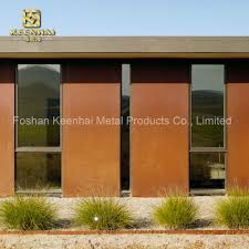China Exterior Fence Price Wall Corten Steel Sheet Plate Kh Cs 04 China Plant Pot Planter
