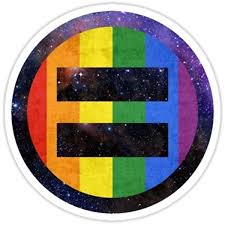 Amazon Com Equality Pride Universe Sticker Graphic Bumper Window Sicker Decal Gay Pride Sticker Automotive