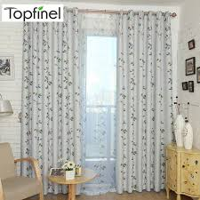 2020 Topfinel Bird And Leaves Curtains For Living Room Bedroom Curtains Home Decor Kids Window Panel Blackout Curtain Drapes From Adeir 22 02 Dhgate Com