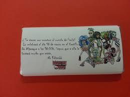Invitaciones De Chocolate Para Fiesta De Cumpleanos Todocelebraciones