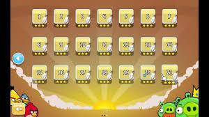 Angry Birds all level unlocked - YouTube