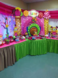 birthday party ideas candy land