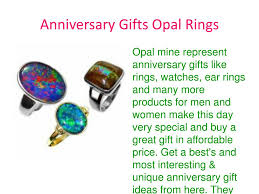 ppt opal anniversary gifts for him