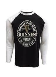 guinness dublin label long sleeve t