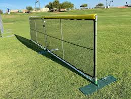 Home Run Fence Portable Sports Fencing Portable Baseball Fence