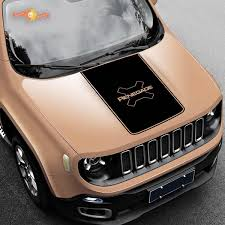 Product 2015 2017 Jeep Renegade Trailhawk Vinyl Hood Decal Sticker Graphic