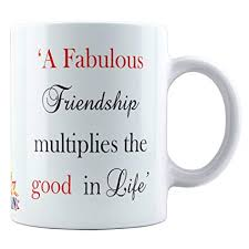 buy friendship quotes printed tea and coffee mug for friend online