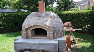 wood fired pizza oven bbq smoker bo