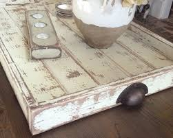 coffee table or ottoman tray large