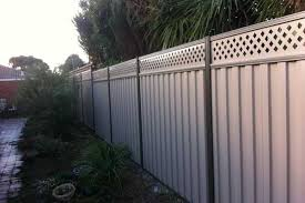 Cost Of Colorbond Fencing Per Square Metre Metal Fencing Costs