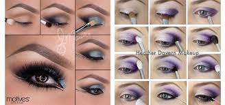 12 easy summer eye make up tutorials