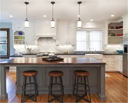 cozy and inviting kitchen island lighting