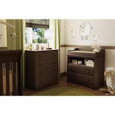 South Shore Angel 4 Drawer Espresso Chest 3559034 The Home Depot