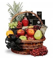 gourmet basket food fruit baskets