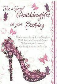 Granddaughter Birthday Happy Birthday Grandaughter Grandaughter Birthday Wishes Birthday Verses