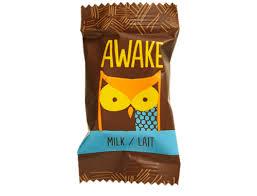 awake caffeinated chocolate caramel