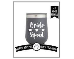 Bride Squad Sticker Etsy