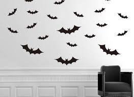 Mural Decal Stylish Modern Image Batman Flying Bats Wall Art Sticker Home Garden Decor Decals Stickers Vinyl Art