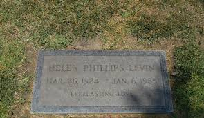 Helen Adele Phillips Levin (1924-1985) - Find A Grave Memorial