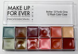 make up for ever neutral flash palette