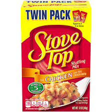 kraft stove top twin pack stuffing mix