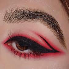 gorgeous makeup looks fashion red eye