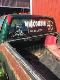 This Is The Most Unique Wisconsin Window Decal I Ve Ever Seen Wisconsin