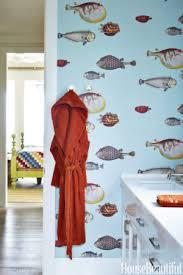 cole and son fish wallpaper