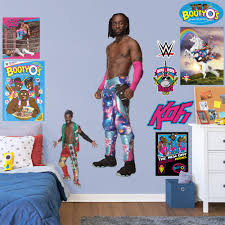 Fathead Kofi Kingston Life Size Officially Licensed Wwe Removable Wall Decal Walmart Com Walmart Com