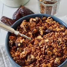 date cashew and honey granola recipe