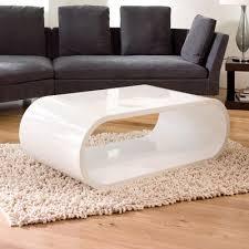 white coffee table modern