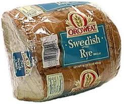 oroweat swedish style rye bread 16 oz