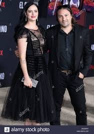 WESTWOOD, LOS ANGELES, CALIFORNIA, USA - OCTOBER 07: Actress Krysten Ritter  and partner Adam Granduciel arrive at the Los Angeles Premiere Of Netflix's  'El Camino: A Breaking Bad Movie' held at the