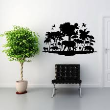 Jungle Wall Decal Style And Apply