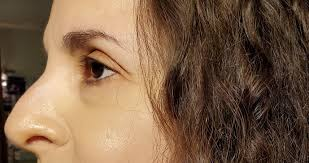 winged eyeliner for deep set sunken