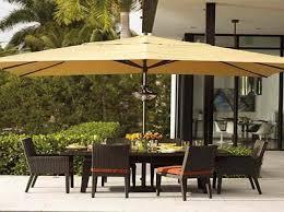 patio umbrellas yellow for backyard