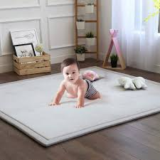Amazon Com Baby Play Mat Soft Play Rugs For Boys Girls Infant Baby Toddler Nursery Thick Grey Rug For Living Room Playroom Classroom Nursery And Dormitor Foam Mat Tatami Mat Exercise Mat 79