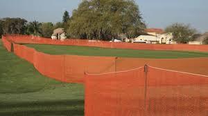 Volm 4 X 100 Orange Ez Fence At Menards