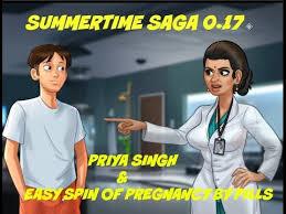 summertime saga 0 17 gameplay priya