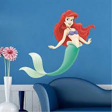 Little Mermaid Vinyl Ariel Disney Princess Wall Decal Mural Girls Bedroom N91 16 95 Picclick