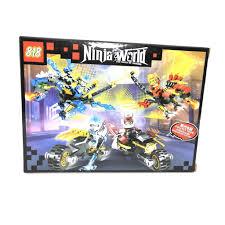 NINJA WORLD- ĐỒ CHƠI XẾP HÌNH LEGO CON ĐƯỜNG ANH HÙNG 84 CHI TIẾT
